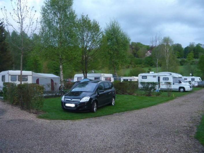 Location de vacances - Camping à Lyons-la-Forêt - Emplacement nu