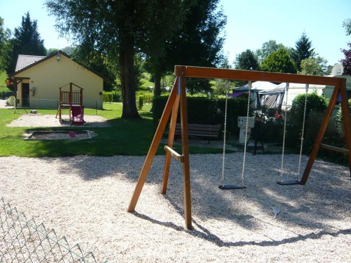 Location de vacances - Camping à Lyons-la-Forêt - Aire de Jeux
