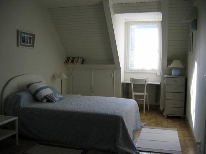 Location de vacances - Villa à Le Palais - chambre lit double étage