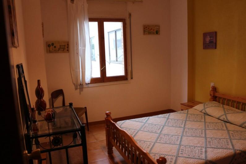 Location de vacances - Appartement à Llançà - Chambre lit 2 personnes.