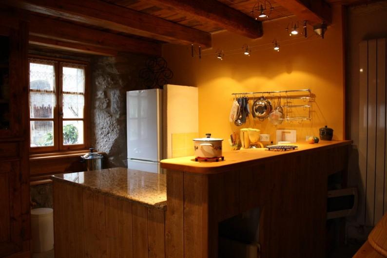 Location de vacances - Maison - Villa à Saugues - Le coin cuisine