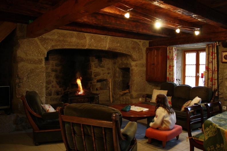 Location de vacances - Maison - Villa à Saugues - La cheminée d'antan