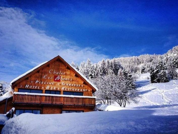 Location de vacances - Hôtel - Auberge à Pra-Loup - Hotel Les Blancs