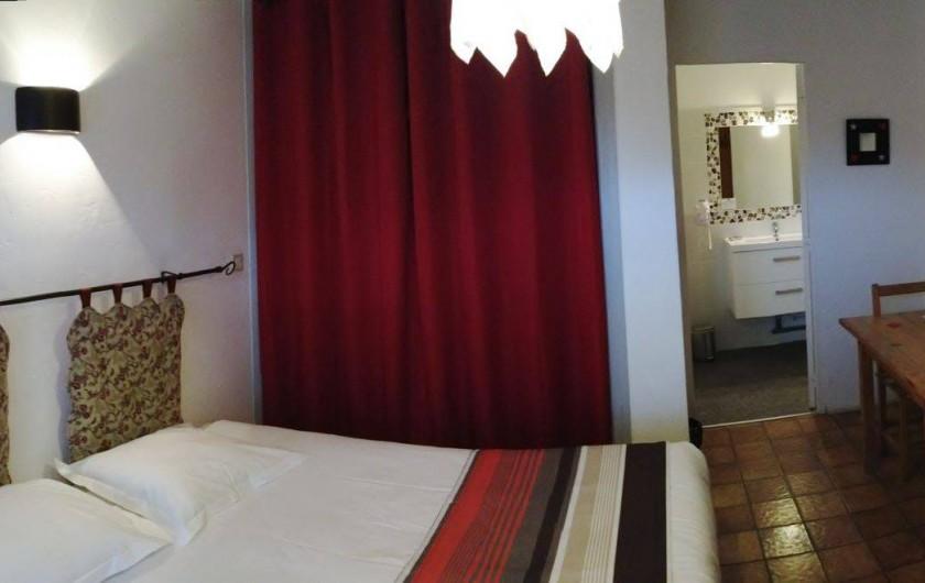 Location de vacances - Hôtel - Auberge à Pra-Loup - chambre double