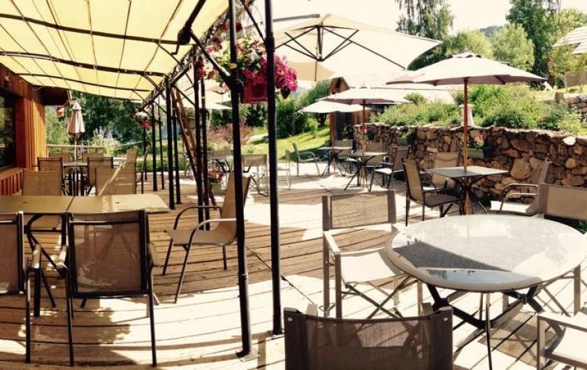 Location de vacances - Hôtel - Auberge à Pra-Loup - Terrasse