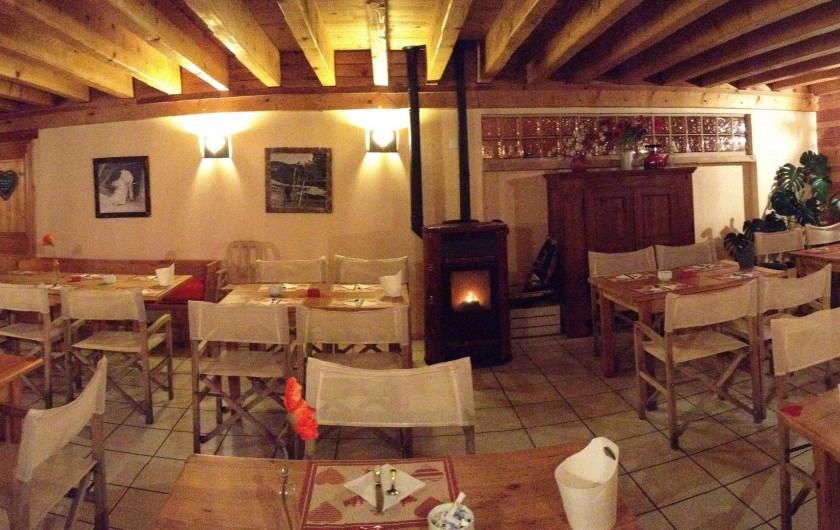 Location de vacances - Hôtel - Auberge à Pra-Loup - Deuxième salle de restaurant