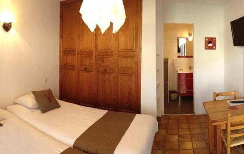 Location de vacances - Hôtel - Auberge à Pra-Loup - Chambre twin