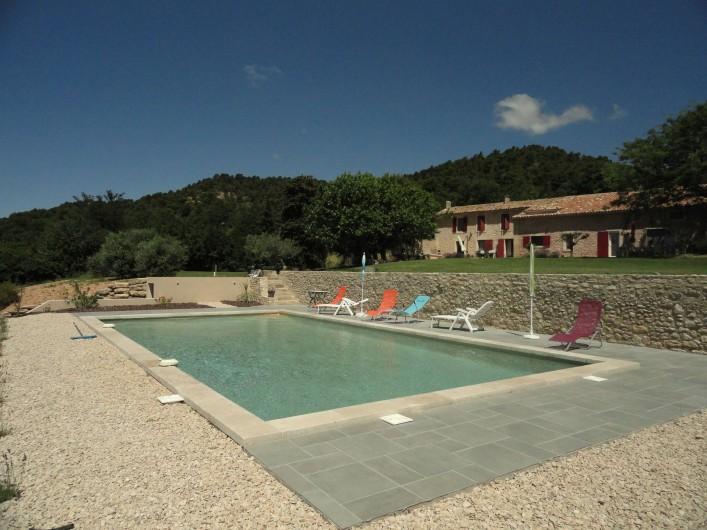 Location de vacances - Gîte à Cucuron - Vue de la campagne