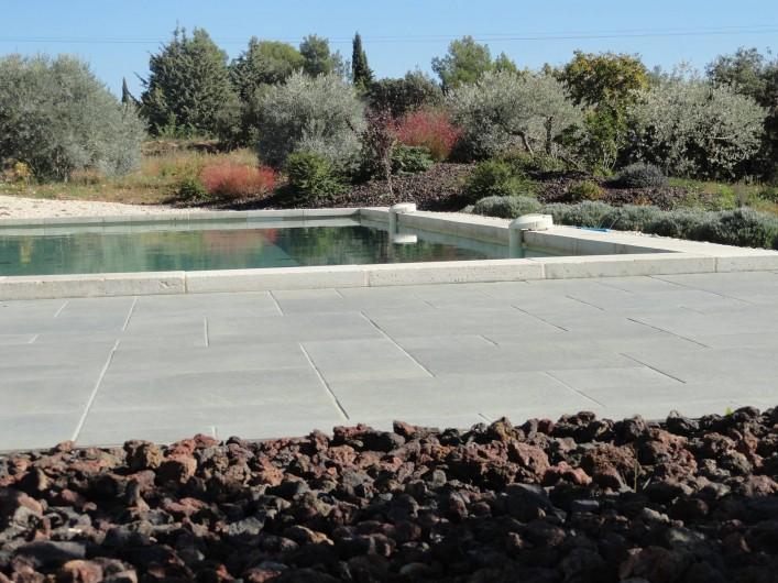 Location de vacances - Gîte à Cucuron - La piscine