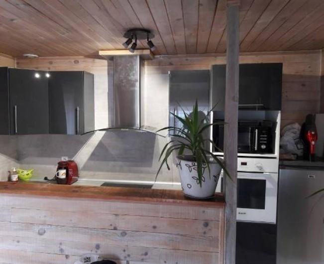 Location de vacances - Villa à Saint-Michel-Escalus - ustensiles de cuisine, robot.