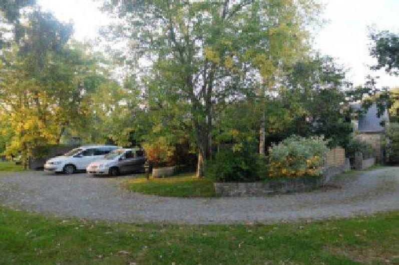 Location de vacances - Gîte à Fouesnant - Parking et espace sécurisé