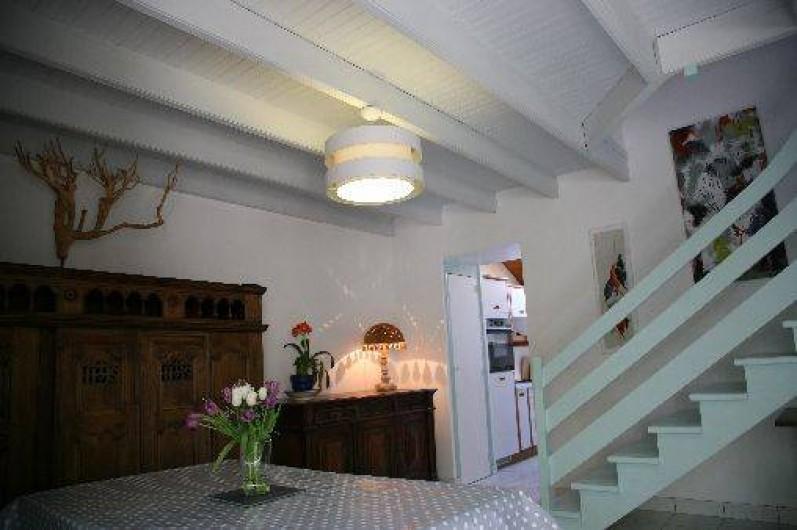 Location de vacances - Gîte à Fouesnant - Le coin Salle à Manger