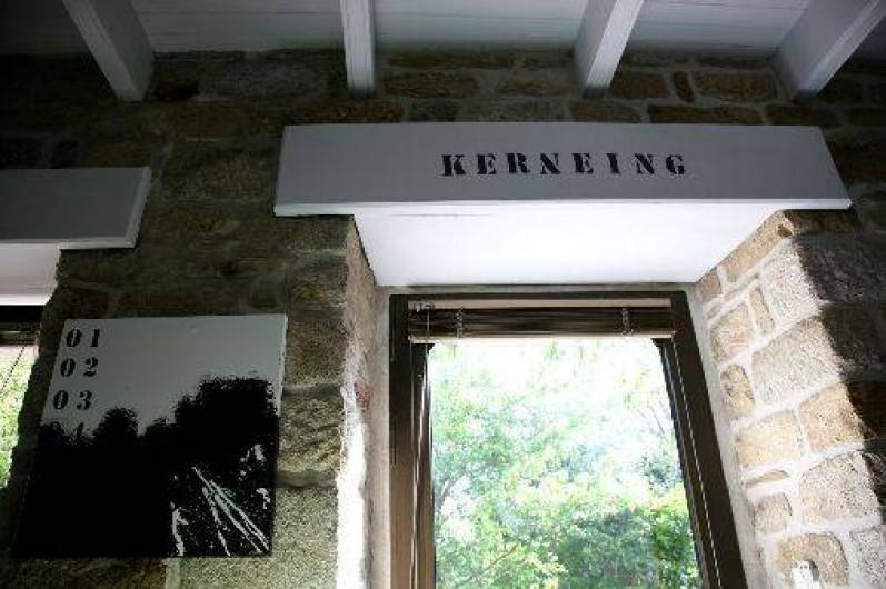 Location de vacances - Gîte à Fouesnant - Vous êtes à Kerneing