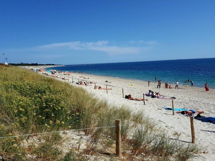 Location de vacances - Gîte à Fouesnant - La plage de Kerler, la plus proche des Penty