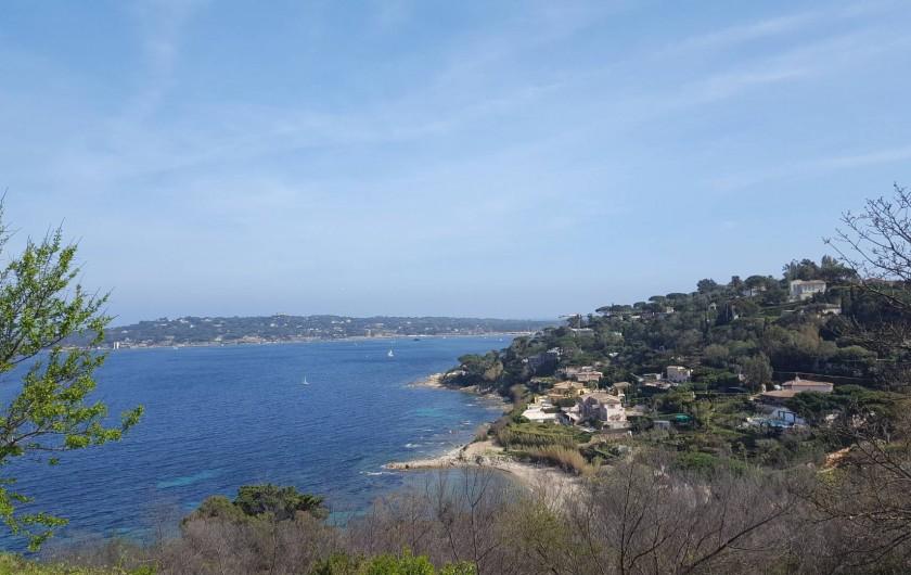 Location de vacances - Studio à Juan les Pins - Baie de St Tropez