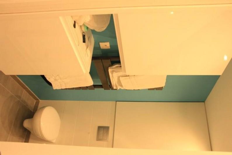 Location de vacances - Studio à Juan les Pins - WC suspendu