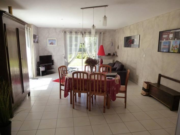 Location de vacances - Villa à Saint-Briac-sur-Mer - Le salon Séjour