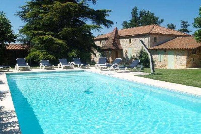 Location Gîte À Saint Georges - Lot-Et-Garonne - Aquitaine Avec