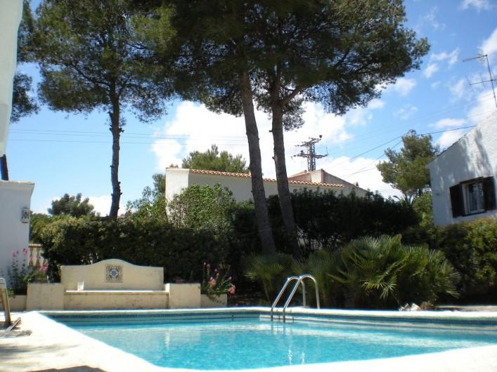Location de vacances - Villa à Xàbia - Jolie piscine privative plein sud