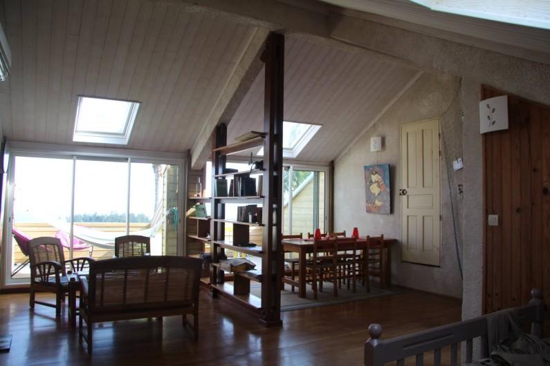 Location de vacances - Gîte à Petite Île - Grande pièce centrale