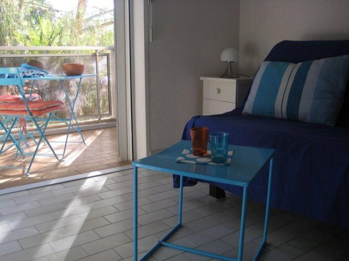 Location de vacances - Appartement à Bandol - pénombre pour la sieste