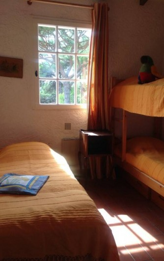 Location de vacances - Mas à La Croix-Valmer - Chambre enfants 3