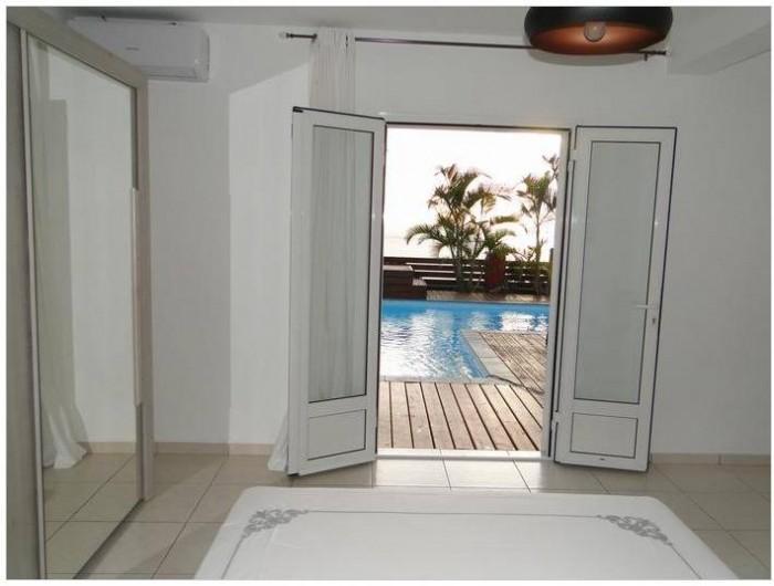 Location de vacances - Villa à Piton Saint-Leu - vue depuis la chambre parentale
