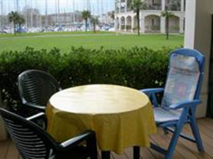 Location de vacances - Studio à Rochefort - terrasse