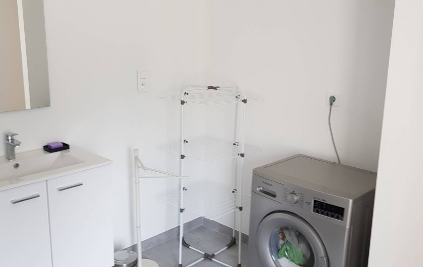 Location de vacances - Appartement à Le Tholy - salle de bains
