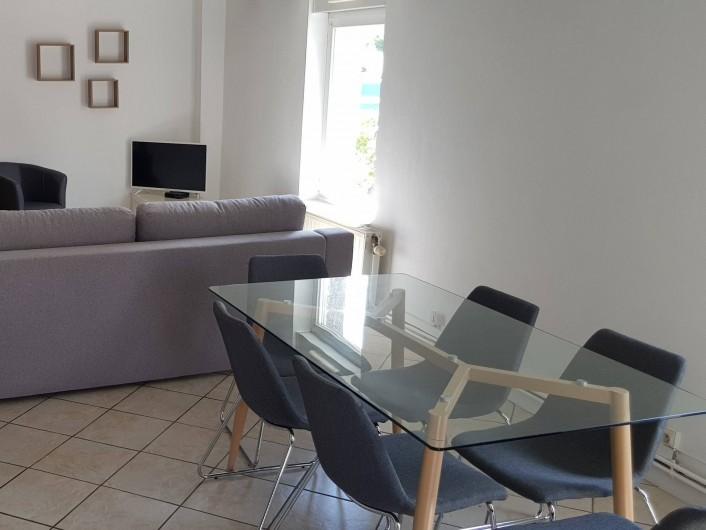 Location de vacances - Appartement à Le Tholy - salle à manger