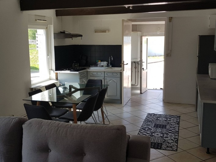 Location de vacances - Appartement à Le Tholy - vue à partir du salon
