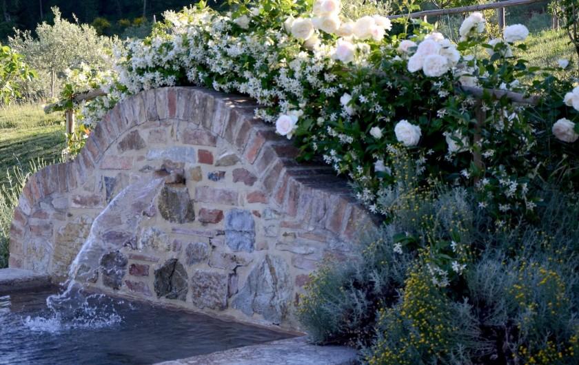 Location de vacances - Mas à Montepulciano - Le petit bassain