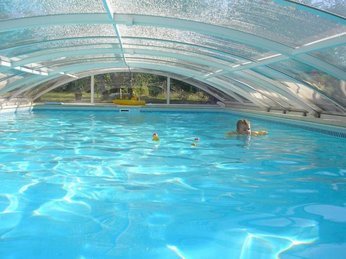 Location de vacances - Gîte à Saint-Rabier - Côté piscine, à l'abri du vent