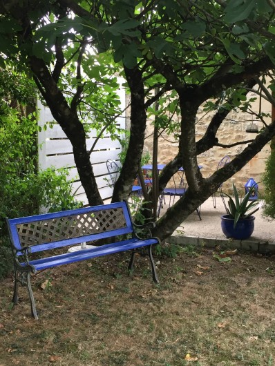 Location de vacances - Gîte à Saint-Rabier - Terrasse privative