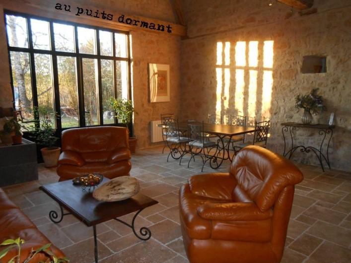 Location de vacances - Gîte à Saint-Rabier - Séjour