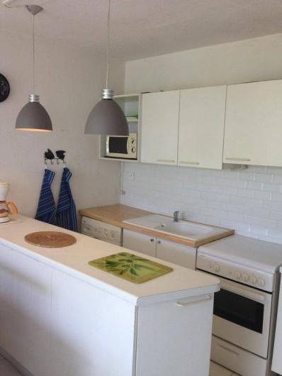 Location de vacances - Appartement à Pointe du Bout - La cuisine