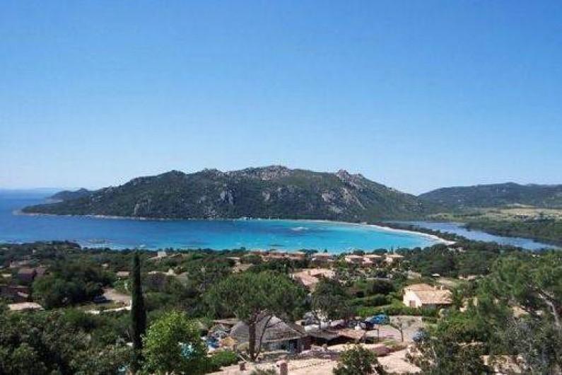 Location de vacances - Villa à Porto-Vecchio - La plage de Santa-Giulia