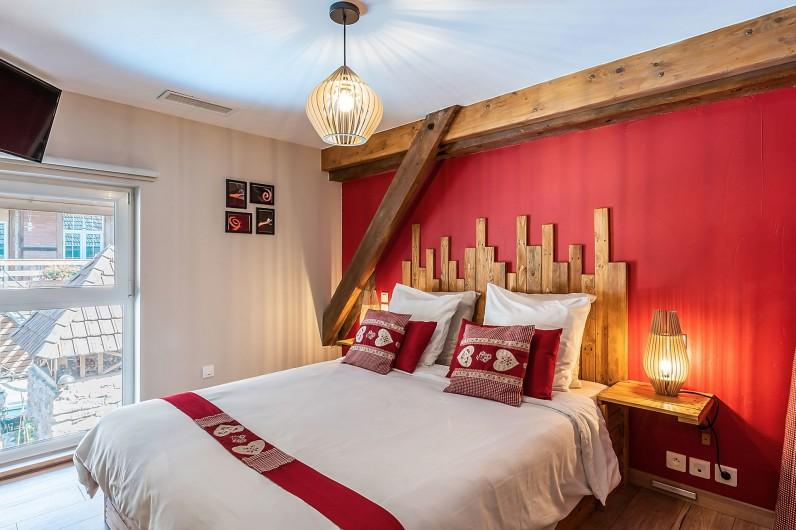 Location de vacances - Gîte à Ungersheim - La Chambre Rouge