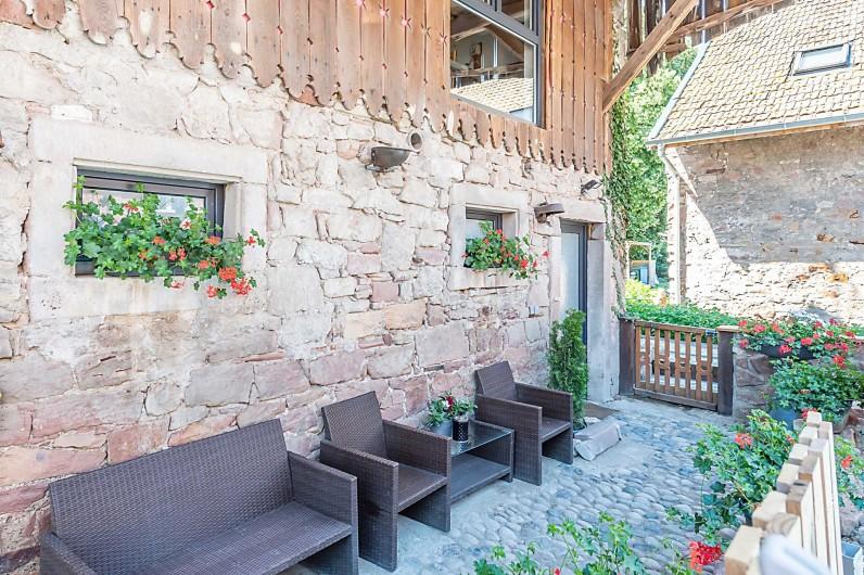 Location de vacances - Gîte à Ungersheim - L'Extérieur