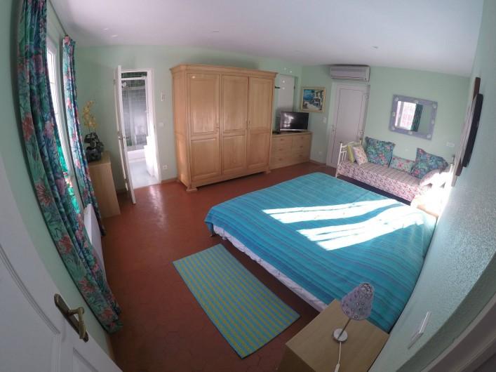 Location de vacances - Gîte à Saint-Martin-de-Pallières - Chambre 2