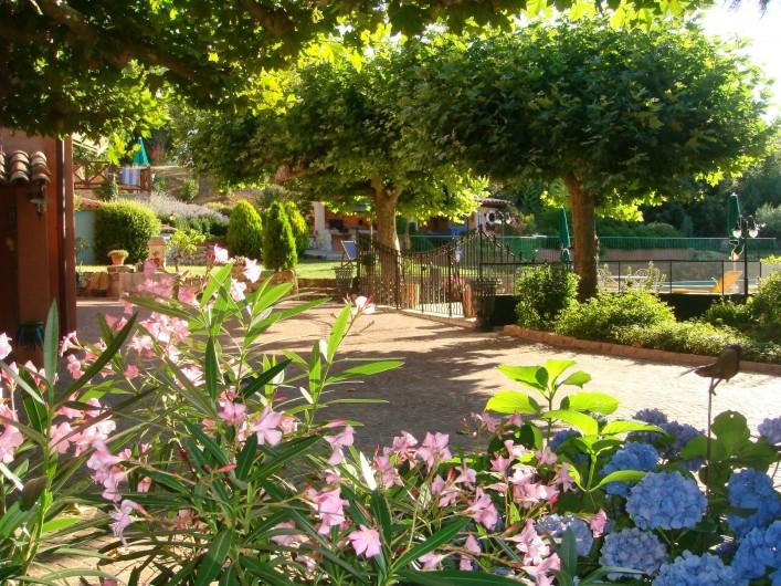 Location de vacances - Gîte à Saint-Martin-de-Pallières - Le Domaine
