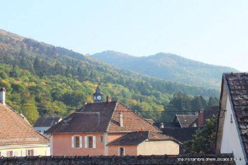 Location de vacances - Chambre d'hôtes à Soultzbach-les-Bains - Vue village