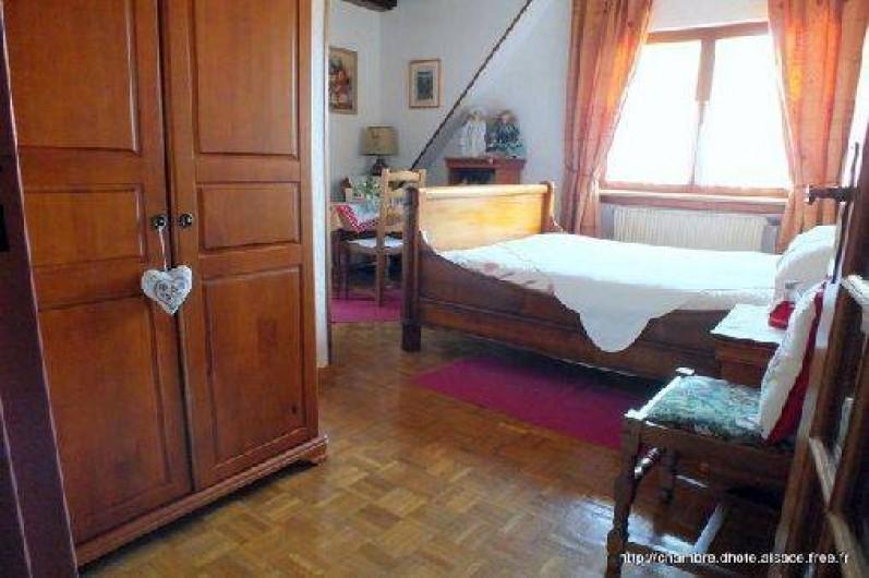Location de vacances - Chambre d'hôtes à Soultzbach-les-Bains - Chambre Myrtille