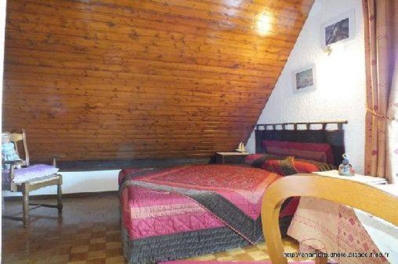 Location de vacances - Chambre d'hôtes à Soultzbach-les-Bains - Chambre Mirabelle