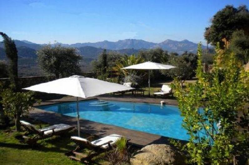 Location de vacances - Maison - Villa à Calvi - Piscine chauffée