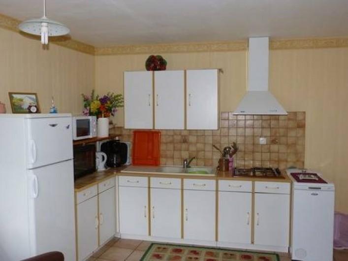 Location de vacances - Gîte à Béganne - Espace cuisine