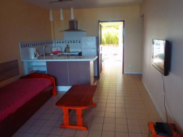 Location de vacances - Appartement à Pointe du Bout - séjour