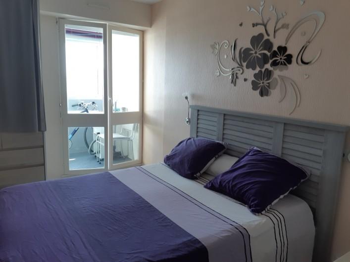 Location de vacances - Appartement à Saint-Hilaire-de-Riez - Lumineuse, literie neuve de 2020.