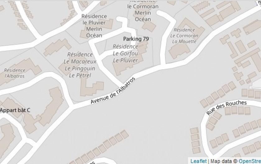 Location de vacances - Appartement à Saint-Hilaire-de-Riez - En placement du parking et du logement.