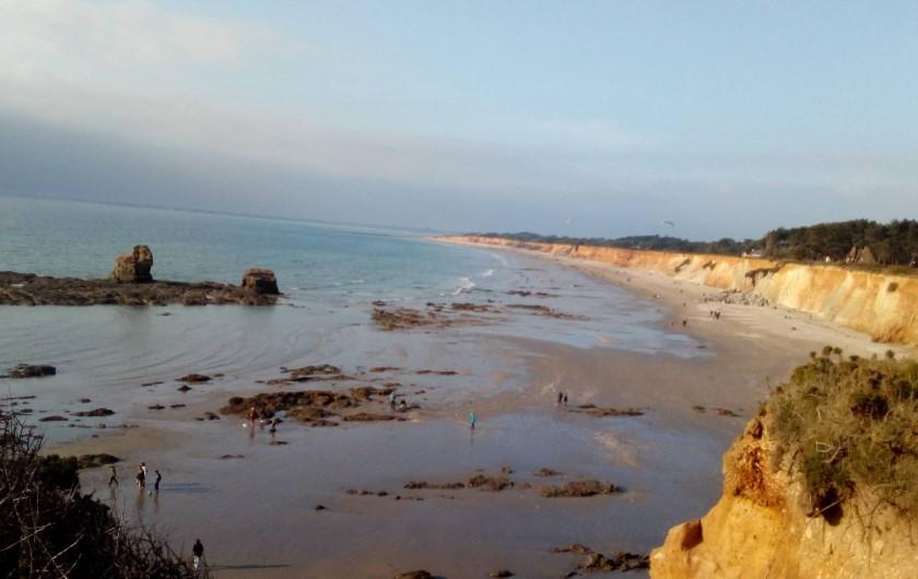 Location de vacances - Maison - Villa à Pénestin - Plage de La Mine d'Or à 4 km de la maison